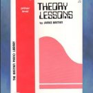 Bastien Piano Library Theory Lessons Primer Level