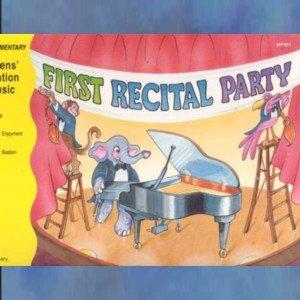 Bastien Invitation to Music First Recital Party