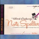 The Alfred d'Auberge Note Speller Book One