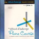 The Alfred d'Auberge Piano Course Lesson Book Book Six