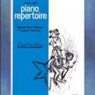 David Carr Glover Piano Library Repertoire Level 1