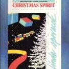 Christmas Spirit 5 Finger Piano Solos Linda Spevacek
