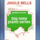 Jingle Bells Big Note Piano Arrangement Pamela Schultz