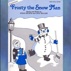 Frosty The Snow Man Piano Vocal Arrangement