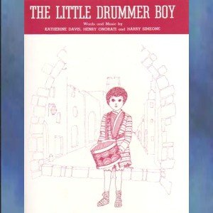 The Little Drummer Boy Piano Vocal Arrangement