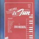 Theory Is Fun Book One David Hirschberg