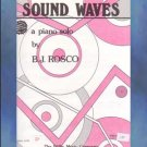 Sound Waves Mid-Intermediate Piano Solo B. J. Rosco