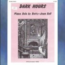 Dark Hours Elementary Halloween Piano Solo