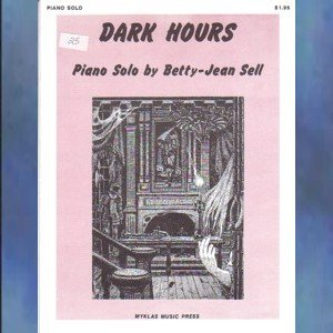 Dark Hours Elementary Halloween Piano Solo