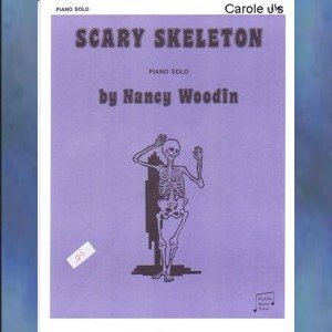 Scary Skeleton Level 1 Halloween Piano Solo