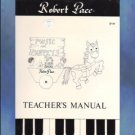 Music For Moppets Teacher's Manual Robert Pace