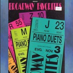 Broadway Favorites Piano Duets Intermediate Piano