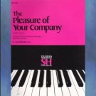 The Pleasure Of Your Company Piano Duets Book 1