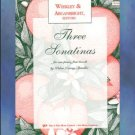 Three Sonatinas Piano Duets Weekley and Arganbright