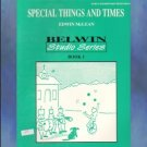 Special Things And Times Book 1 McLean Early Piano