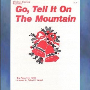 Go Tell It on the Mountain 1 Piano/4 Hands