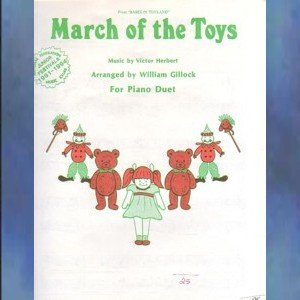 March Of The Toys 1 Piano/4 Hands Herbert/Gillock