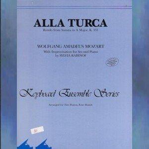 Alla Turca 2 Pianos/4 Hands Mozart/Rabinof NFMC Selection