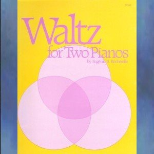 Waltz For Two Piano 2 Pianos/4 Hands Eugenie Rocherolle