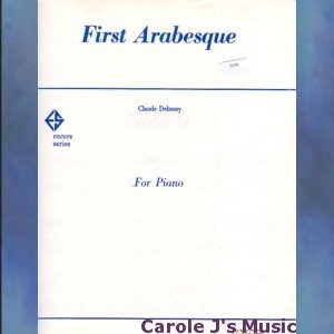 First Arabesque Advanced Piano Solo Claude Debussy