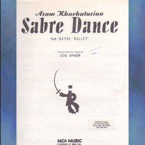 Sabre Dance from Gayne Ballet Aram Khachaturian