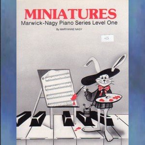 Miniatures Level One Solo Piano Maryanne Nagy
