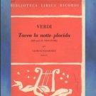 Tacea la notte placida from Il Trovatore Giuseppe Verdi