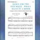Dance Beginner's Set 1 Elementary Piano Solo arr. Mary Elizabeth Clark