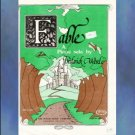 Fable Early Intermediate Piano Solo Frederick Werle