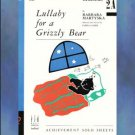 Lullaby For a Grizzly Bear Late Elementary Piano Solo Barbara Martyska