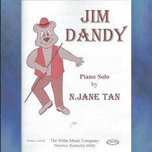 Jim Dandy Early Intermediate Piano Solo N. Jane Tan