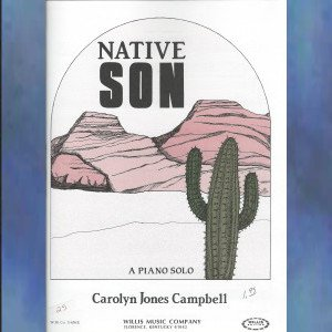 Native Son Early Intermediate Piano Solo Carolyn Jones Campbell