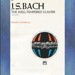 J. S. Bach The Well-Tempered Clavier Volume I Willard Palmer