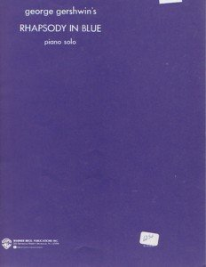 Rhapsody In Blue Gershwin Original Solo for Piano