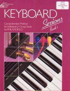 Keyboard Sessions Book 1 Book & Cassette Phil Kadidlo