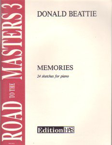 Road To The Masters Volume 3 Memories 24 Sketches For Piano Beattie
