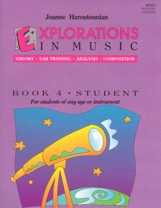 Explorations In Music Student Book 4 (Book & Cassette) Haroutounian
