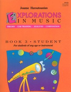 Explorations In Music Student Book 3(Book & Cassette) Haroutounian