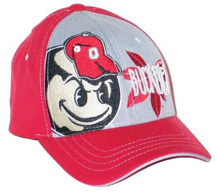 Ohio State Bukeyes Zephyr Rage Z-Fit Flex Hat / Cap NEW!