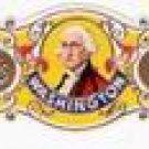 1 BIG CLASSICAL Cigar band Washington s1 n3