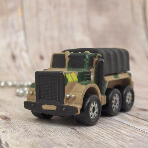 Military Cargo Truck : Necklace
