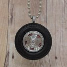 Chevy Wheel - Reversable Necklace