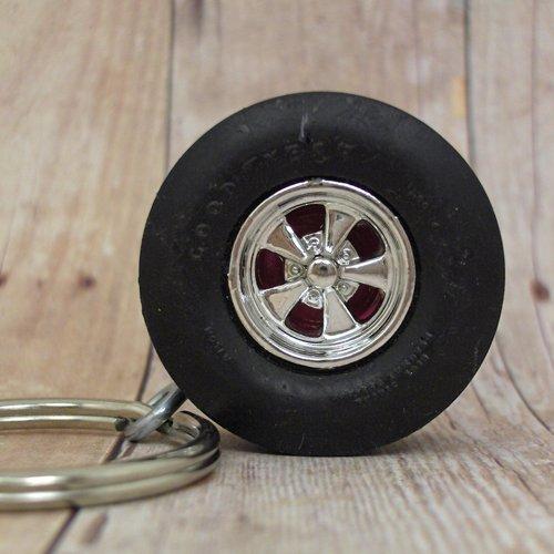 6 pt. Racing Slick - Wheel Keyring