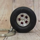 6 pt. Racing Slick - Wheel Keyring