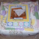ZZ Baby Bloomsbury Dragonfly Crib Set 4pc Quilt Bumper Skirt Sheet NWT