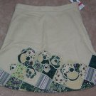 GAP Khaki Skirt Wonderful School Length Size 7 Regular NWT