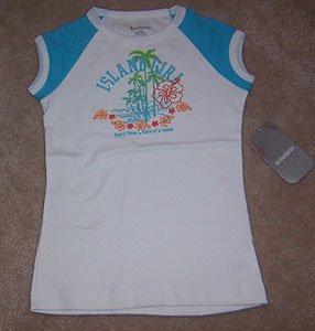 No Boundaries Island Girl Tee Shirt Girl Size M 7 8 NWT