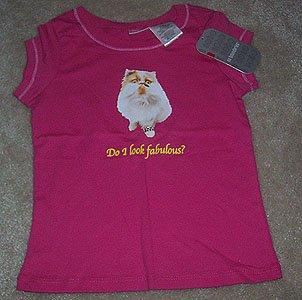 No Boundaries Shirt Do I look fabulous? Girls Sz M 7 8 NWT