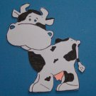 "3"" Customized Cow Die Cut"