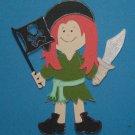 """3"""" Customized Pirate Girl"""